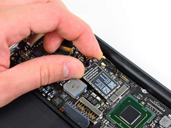 "MacBook Air 11"" Mid 2012 AirPort/Bluetooth Board Replacement"