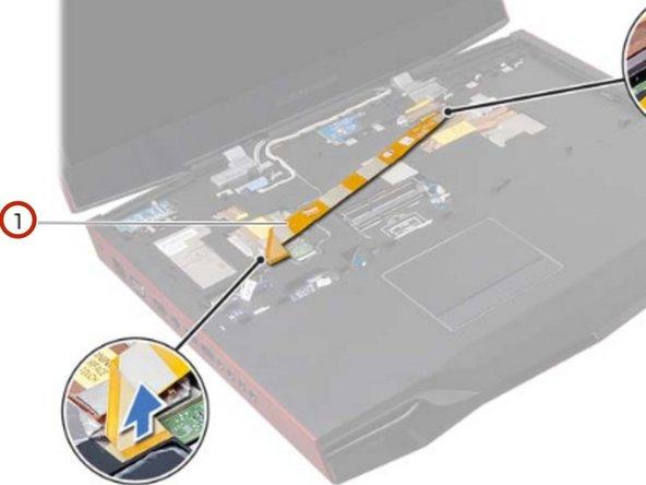 Reemplazo del conjunto de pantalla Dell Alienware M18x R2