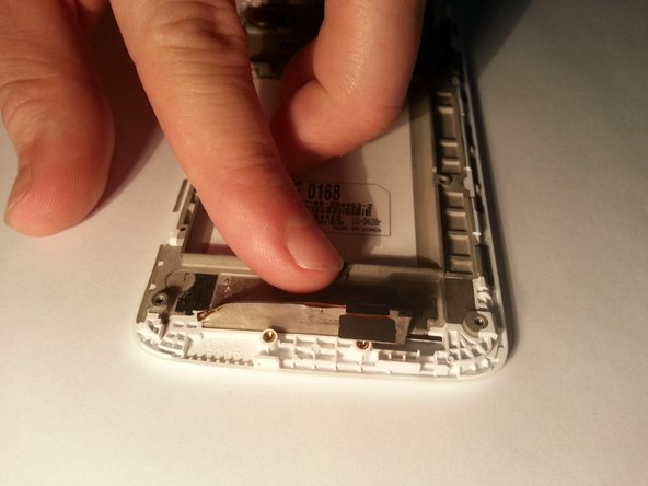 Image 1/3: Pull the LCD screen away from the case.