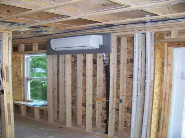 Garages, porches and courtyards are good places to clean or wash split air conditioners as they mostly have arrangements for water drainage.