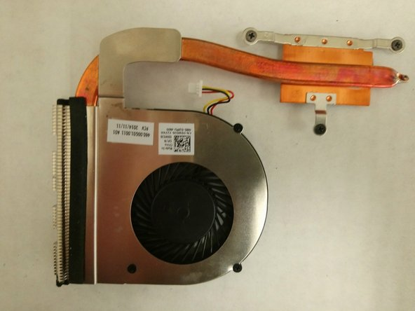 Dell Inspiron 17-5749 Heat-sink Assembly Replacement