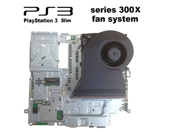 PlayStation 3 Slim (CECH-300X) Fan system Replacement