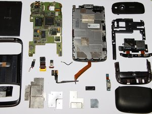 Zerlegen des HTC Desire S