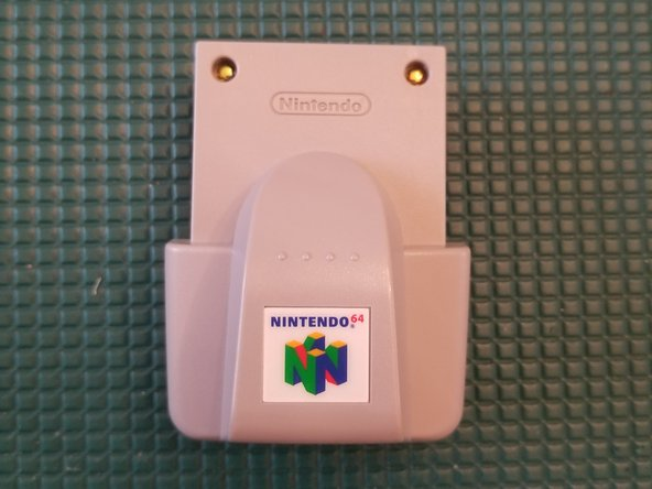 N64 Rumble Pak (Rumble WITHOUT batteries)