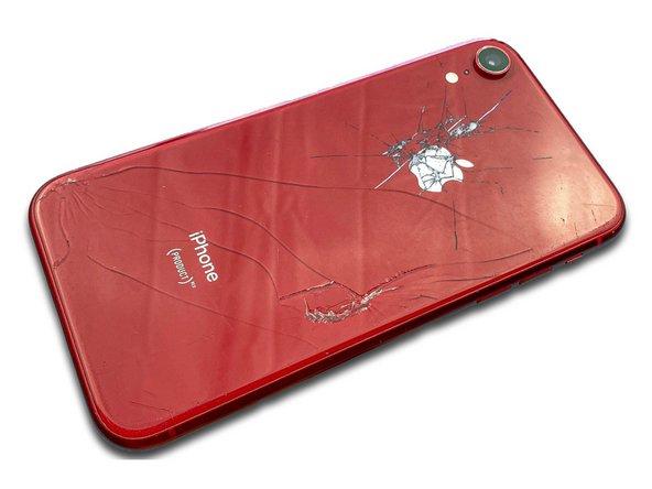 Remplacement de la vitre arrière iPhone XR
