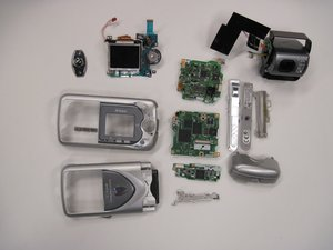 Nikon Coolpix 3500 Teardown