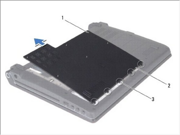 Dell Studio 1450 Base Cover Replacement