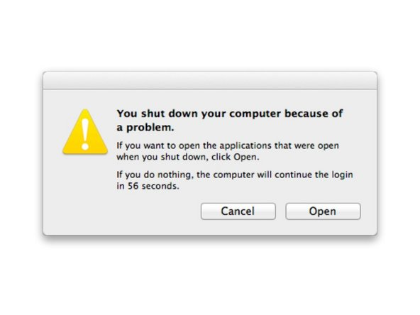 How to determine Mac shutdown causes
