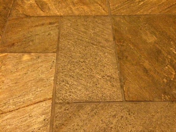 Allow the tile and grout to set for three days. Avoid walking over the tile excessively during this time.