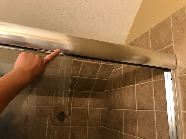 Shower Door Wheels Replacement