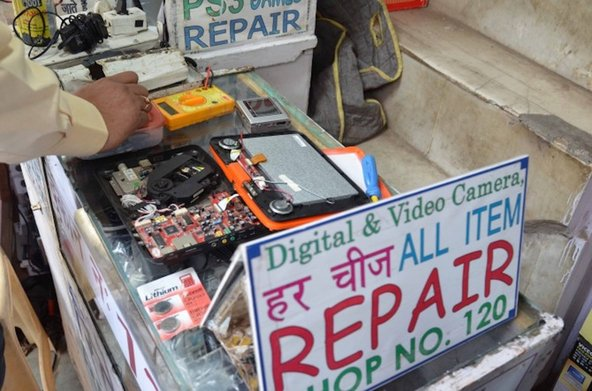 device repair stand in Ghana