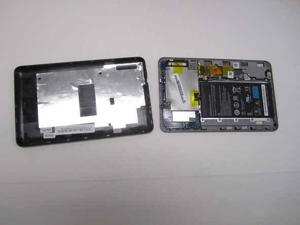 Once all the sides have been separated, you should be able to simply lift the cover off of the device.