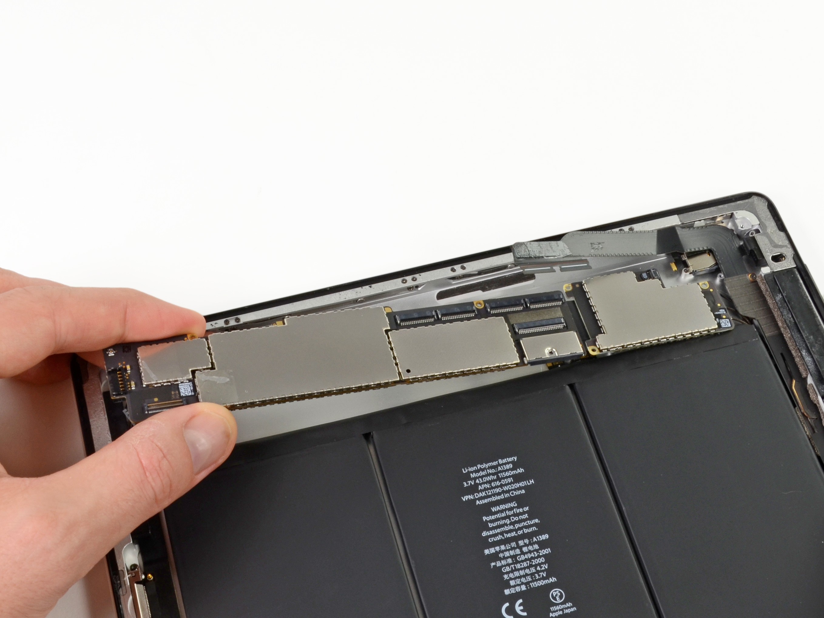 Ipad 3 4g Logic Board Replacement Ifixit Repair Guide 2 Diagram