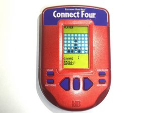 Troubleshooting Connect Four Electronic Handheld