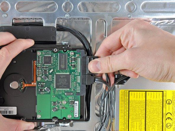 "iMac Intel 24"" EMC 2111 Hard Drive Replacement"