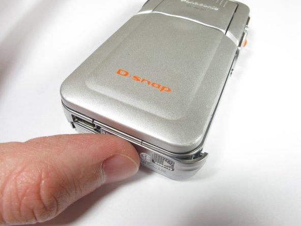 Panasonic D-snap SV-AV50 SD Card Replacement
