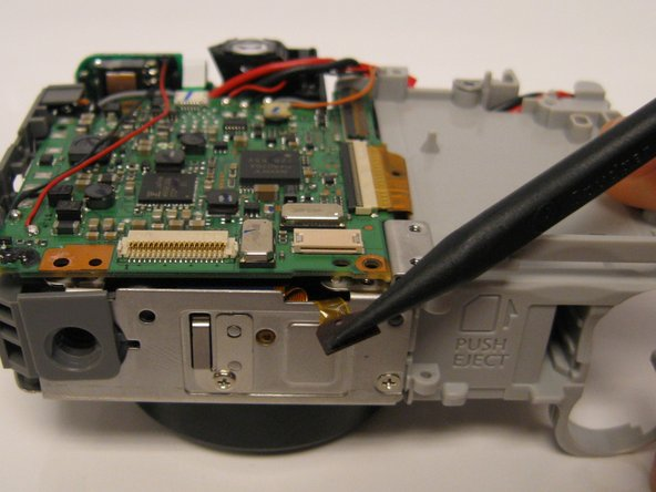 Alternate on both sides of ribbon cable to remove evenly from the ZIF connector every time you use a spudger.