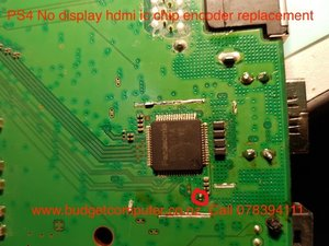 What component is this and what is its value? - PlayStation