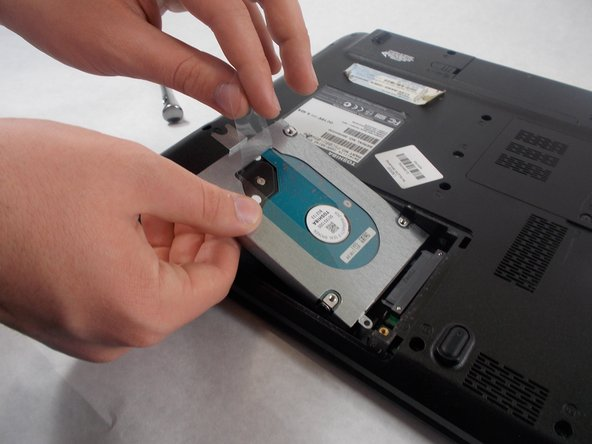 Toshiba Satellite C655-S5142 Hard Disk Drive Replacement