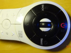 Prevent LG TV Magic Remote Model AN-MR400G Rubber Wheel Slipping