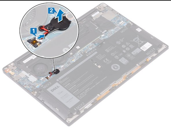 Remplacement de la pile sur le Dell XPS 13 9380