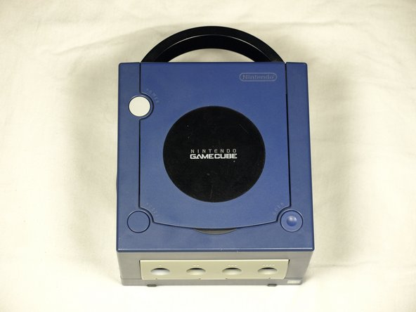 Flip the GameCube upside down.