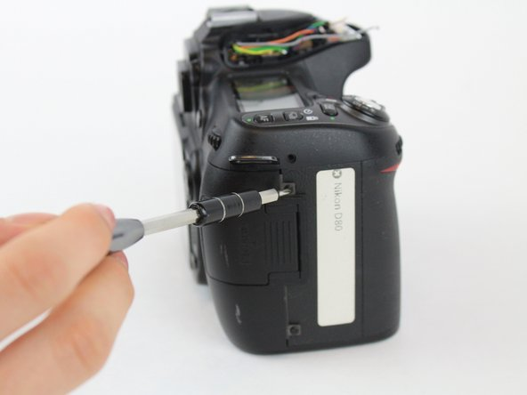 Nikon D80 Rear LCD Screen Replacement