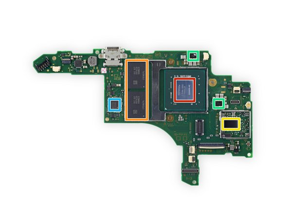 Image 1/1: NVIDIA ODNX02-A2 (presumably the Tegra X1-based SoC)