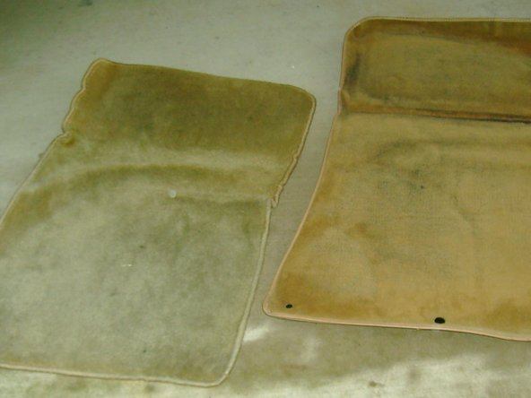 Remove passenger (right) floor mat(s). Mine had the sound deadening one plus a protective one over the top of that.