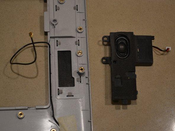 Left hand speaker