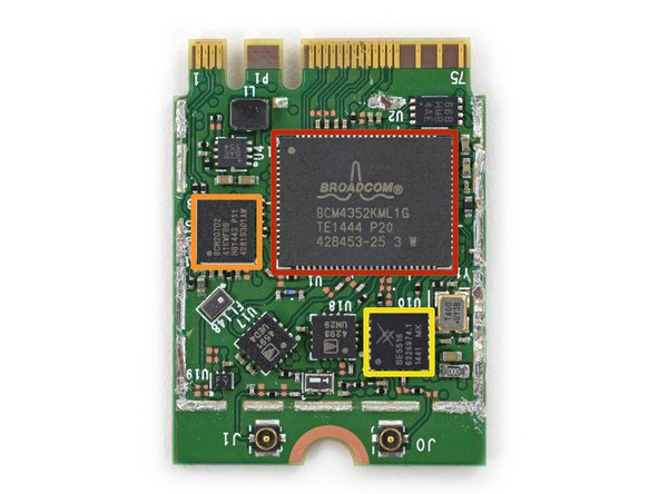 Image 3/3: Broadcom [http://www.broadcom.com/products/Bluetooth/Bluetooth-RF-Silicon-and-Software-Solutions/BCM20702|BCM20702|new_window=true] single-chip Bluetooth 4.0 solution with BLE support
