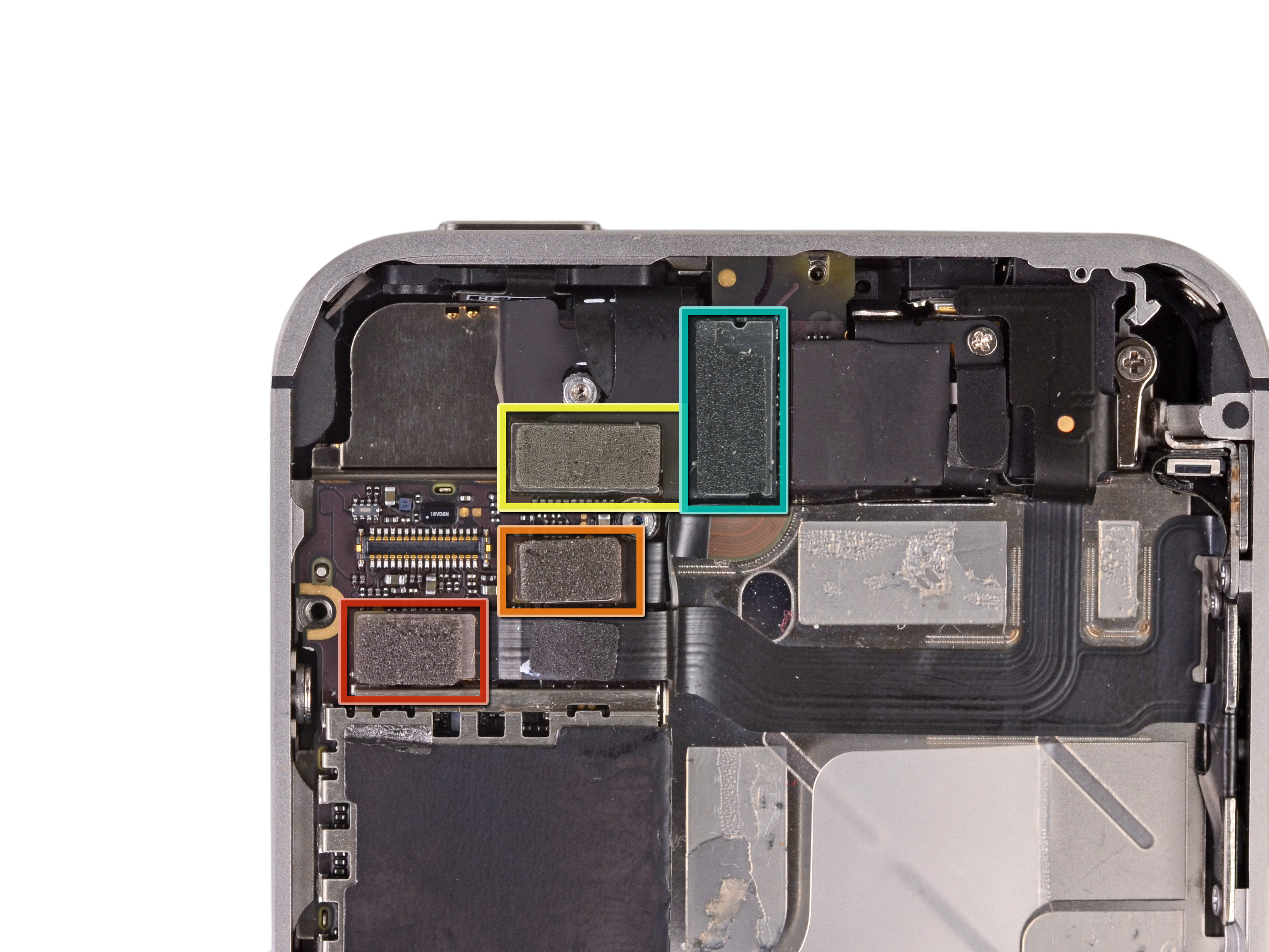Iphone 4 Diagram Logic Board