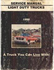 1986 Service Manual