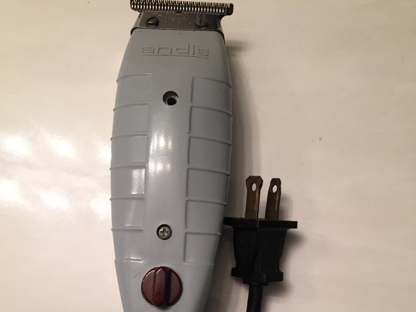 Andis T Outliner Trimmer with T Blade Model G Top Blade Replacement