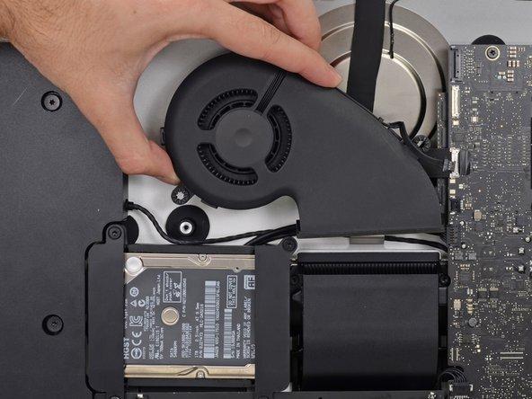"""iMac Intel 21,5"""" EMC 3068 Lüfter austauschen"""