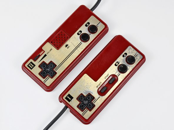 Image 2/2: The Famicom was the first console to popularize [link|http://en.wikipedia.org/wiki/D-pad|D-pad] controllers to acquire user input. Departing from the era of joysticks, the inclusion of the D-pad allowed for quick and accurate controls.