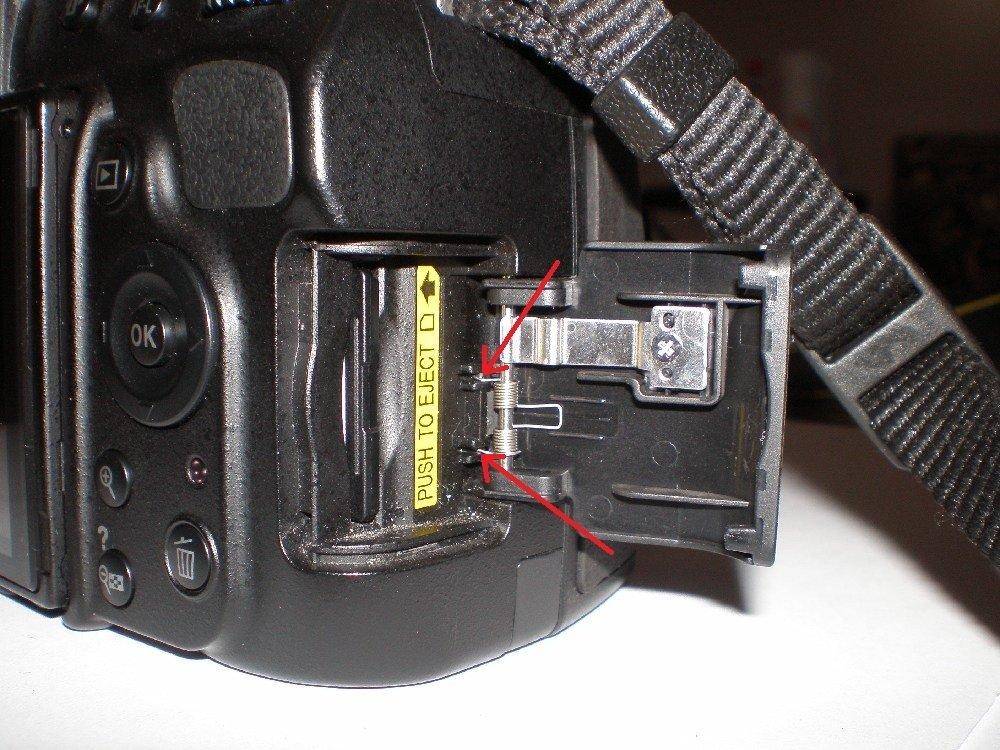Nikon D5100/D3100 SD Memory Card Door Replacement - iFixit Repair Guide