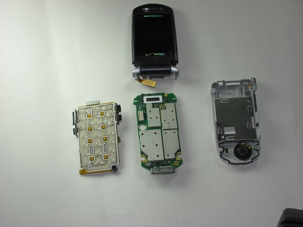 Motorola V710 Logic Board Replacement