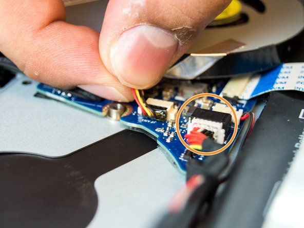 To take the cable out, carefully grab the head of the cable and slowly pull it outwards.