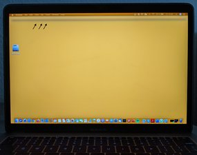 """SOLVED: MacBook Pro 13"""" (2016) display show horizontal black lines. - MacBook  Pro 13"""" Function Keys Late 2016 - iFixit"""