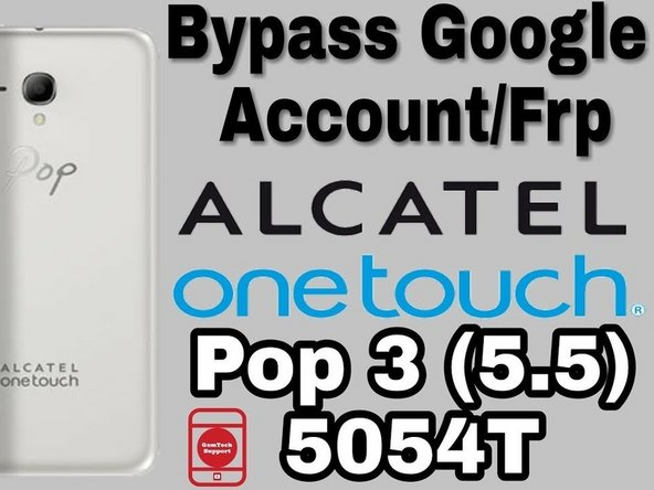 How to FRP (FACTORY RESET PROTECTION) BYPASS ALCATEL