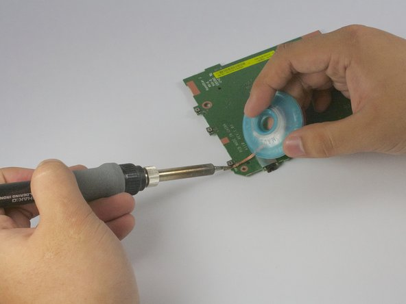 If you do not have soldering experience, STOP HERE. View this link for an ifixit soldering guide.