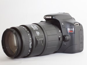 Canon EOS Rebel T2i Troubleshooting