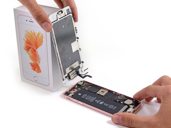 iPhone 6sのディスプレイの交換