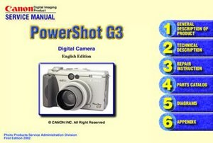 Canon PowerShot G3 Repair Guides