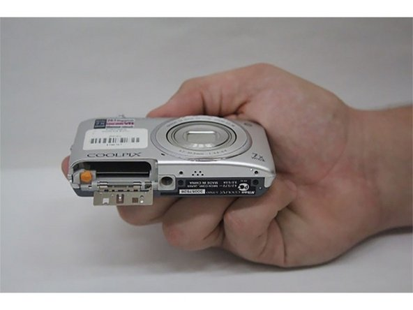 Nikon Coolpix S3500 Battery and memory card door Replacement