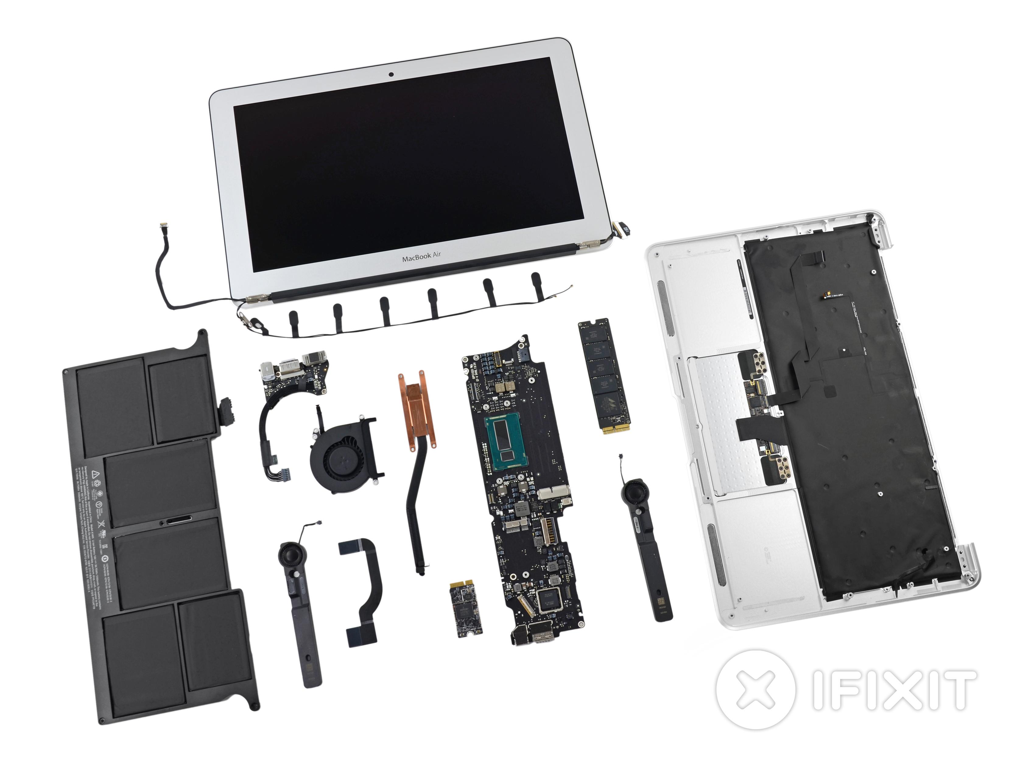 macbook air 11 mid 2013 teardown ifixit rh ifixit com apple macbook air manual 2013 MacBook Air Case with Screen