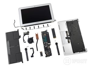 "MacBook Air 11"" Mid 2013 Teardown"