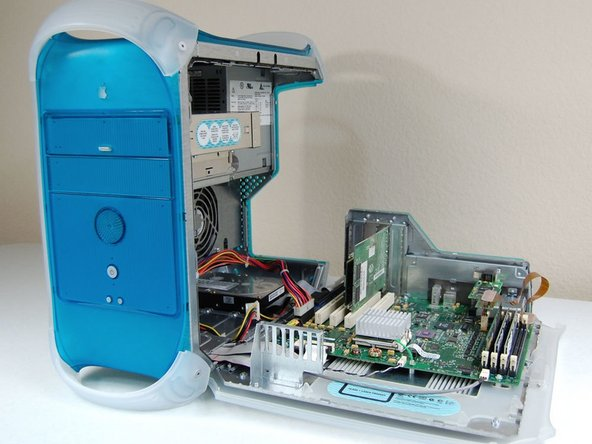 Power Macintosh G3 Blue and White PRAM Battery Replacement