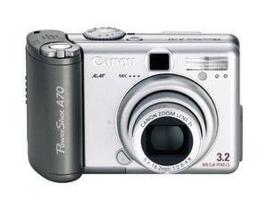 Canon Powershot A70 Repair